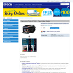 Epson Expression Photo XP-860 Multifunction Printer + 20 Photo Papers $189.50 (Was $399) Delivered @ Epson