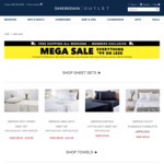 Mega Sale Everything $99 or Less, Free Shipping (Towels from $6, Quilts from $59.47) @ Sheridan Outlet