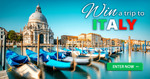 Win a Trip for 2 to Italy Valued At Up to $9988.50 from Insure Me For Life