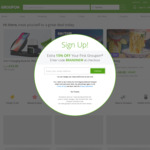 Extra 10% off Sitewide (Max Discount $40) @ Groupon