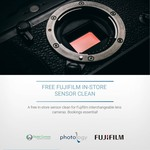 [NSW] Free Sensor Clean for Fujifilm Mirrorless Cameras @ Digital Camera Warehouse