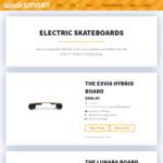 50% off Electric Skateboards - The Lunara, Macrotis, Exvia and Fuga Board from $299 Free Postage @ WalkSmart