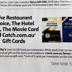 20% off Catch Gift Cards ($50 Cards) | SunRice Jasmine Rice $8.50 @ Coles