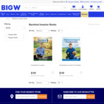 20% off Toys, The Barefoot Investor 2019 $9.50, 50% off All TV Shows - Futurama Box Set $35 + More @ Big W