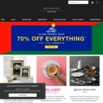 70% off Sitewide @ Royal Doulton Outlet