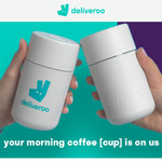[VIC, NSW] Free Deliveroo Frank Green Cup with Coffee or Tea Pick-up Order via App (Melbourne & Sydney)