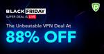 PureVPN Black Friday Deal - 5 Year Plan (USD $71.1 (AUD $104.94), 88% off)