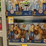 [VIC] Toy Story 4 Woody & Bullseye Adventure Pack $10 or 4 Figurine Adventure Pack $19 @ Kmart Greensborough
