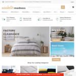 Closing Down Sale: Save 50% with $150 Min Spend, Save 30% Under $150 Spend @ Bedding and Bath Warehouse