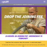 Anytime Fitness One Day Sale - $0 Joining Fee for New Members Signing up to 12 Month Membership (Save $99)