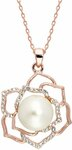 18K Rose Gold Plated Necklace $49 (Save $127) + $10 Delivery (Free over $100 Spend) @ Pica Léla