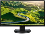 "Acer 27"" 16:9 1920x1080 Full HD LED Monitor (K272HLE) $199 + Shipping (Free shipping for Kogan First) @ Kogan"
