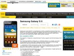 Samsung Galaxy S II $49/Month from Optus