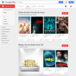 Mega Movie Week: Movies to Own from $5 @ Google Play Store