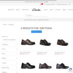 Clarks Daytona School Shoes Youth/Senior $88.17 (RRP $139.95) or Junior $85.02 (RRP $134.95) @ Clarks