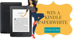 Win a Amazon Kindle Paperwhite + $200 Amazon Gift Card from Book Throne