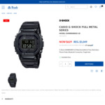CASIO G-SHOCK GMWB5000GD-1D (Full Metal Black) - $629 Delivered (REG. $1,049) @ Prouds Jewelry