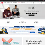 40% off Selected Full-Priced Products Online + $10 Shipping for Orders Less than $100 @ New Balance