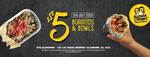 [SA] $5 Burritos & Bowls (8/7, 11am-11pm) @ Guzman Y Gomez (Glandore)
