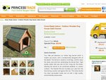 Home Ready Indoor / Outdoor Wooden Dog House Cabin Kennel $62.99+Shipping This week only