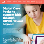Free Downloadable Digital Care Packs for Kids @ Smiling Mind