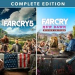 [PS4] Far Cry 5 + Far Cry New Dawn Complete $28.99 (Was $144.95) /Farpoint (VR Game) $12.47 (Was $24.95) - PS Store