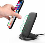 BlitzWolf BW-FWC6 10W Dual Coil Wireless Charger Stand US$11.59 (~A$16.25) - AU Stock Delivered @ Banggood