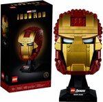LEGO Marvel Avengers Iron Man Helmet 76165 Building Kit $75 Delivered @ Amazon AU