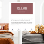 Win a $500 Homeware Voucher from L&M Home