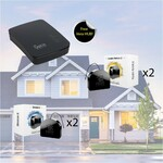 Z-Wave Kit - Buy 2x Fibaro Dimmer and 2x Fibaro Double Relay and Get Vera Edge Free $470.60 + $10 Delivery @ Smartguys.com.au