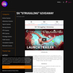Win 5 Keys Key of Struggling (2020 Pc Game) Worth of $30 from ALLYOUPLAY.com