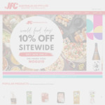 [VIC] 10% Off Sitewide + $18 Delivery > $50, $9 Delivery > $80 or Free > $150 @ JFC Online