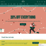 20% off Full Priced Items (Some Exclusions Apply) @ The Body Shop (Online / In-Store)