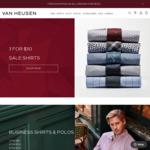3 Men's Shirts for $50 + $7.95 Shipping (Free over $100) @ Van Heusen