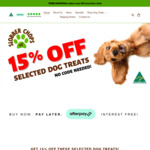 PIGS EARS - 15% off Selected Australian Made Dog Treats + Free Shipping over $99 @ Slobber Chops Dog Treats