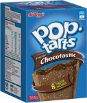 Kellogg's Pop Tarts Chocotastic 384g $2.50 ($2.25 with S&S) + Delivery ($0 Prime/ $39 Spend) @ Amazon AU (Min 5) / Woolworths