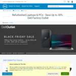 Dell Outlet Black Friday Sale (up to 30% off Inspirons, XPS and more)