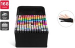 168pc Colour Marker Set $69.99 + Delivery ($49.99 Delivered with First) @ Kogan