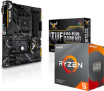 AMD Ryzen 5 3600 + Asus TUF B450-PLUS GAMING Bundle for $399 + Delivery @ Shopping Express