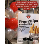 [NSW] Free Hot Chips from 11:30am-3:30pm Today (15/12) @ Schnitz (MLC Centre, Sydney)