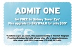 Sydney Tower Eye Free Entry with Coupon until 24/12