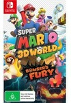 [Preorder, Switch] New Pokemon Snap, Super Mario 3D World Bowsers Fury, Monster Hunter Rise $29ea w/ 2 Games Trade-in @ EB Games