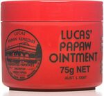 Lucas Papaw Ointment 75g $9.95 (Min Order 2) + Delivery ($0 with Prime/ $39 Spend) @ Amazon AU