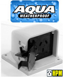 HPM Aqua Series Weatherproof IP53 Single Powerpoint GPO Outlet Socket Switch 15A $15 Delivered @ Eeet5p via eBay