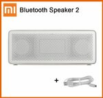 US$2 off - Xiaomi Mi Bluetooth Speaker Square Box 2 US$21.43 (A$28.37) @Xiao_MI Youpin Store via Aliexpress