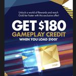 Timezone Gameplay Credit $180 for $100 @ Timezone Australia