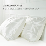 2x Pure 22 Momme Mulberry Silk Pillowcases (Both Sides Silk) $90 Delivered (30% off) @ My Zen