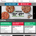 50% off Large Super Premium, Premium, Traditional Pizzas (App Only) @ Domino's (Selected Stores)