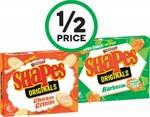 ½ Price Arnott's Shapes $1.60, Twinings Tea Bags Pk 80-100 $5.60, Cadbury Dairy Milk $2.50 @ Woolworths