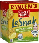 [Prime] UNCLE TOBYS Le Snak Cheddar Cheese Dip and Cracker Value Pack (1 Box of 12 Pack) 264g $3.80 Delivered @ Amazon AU